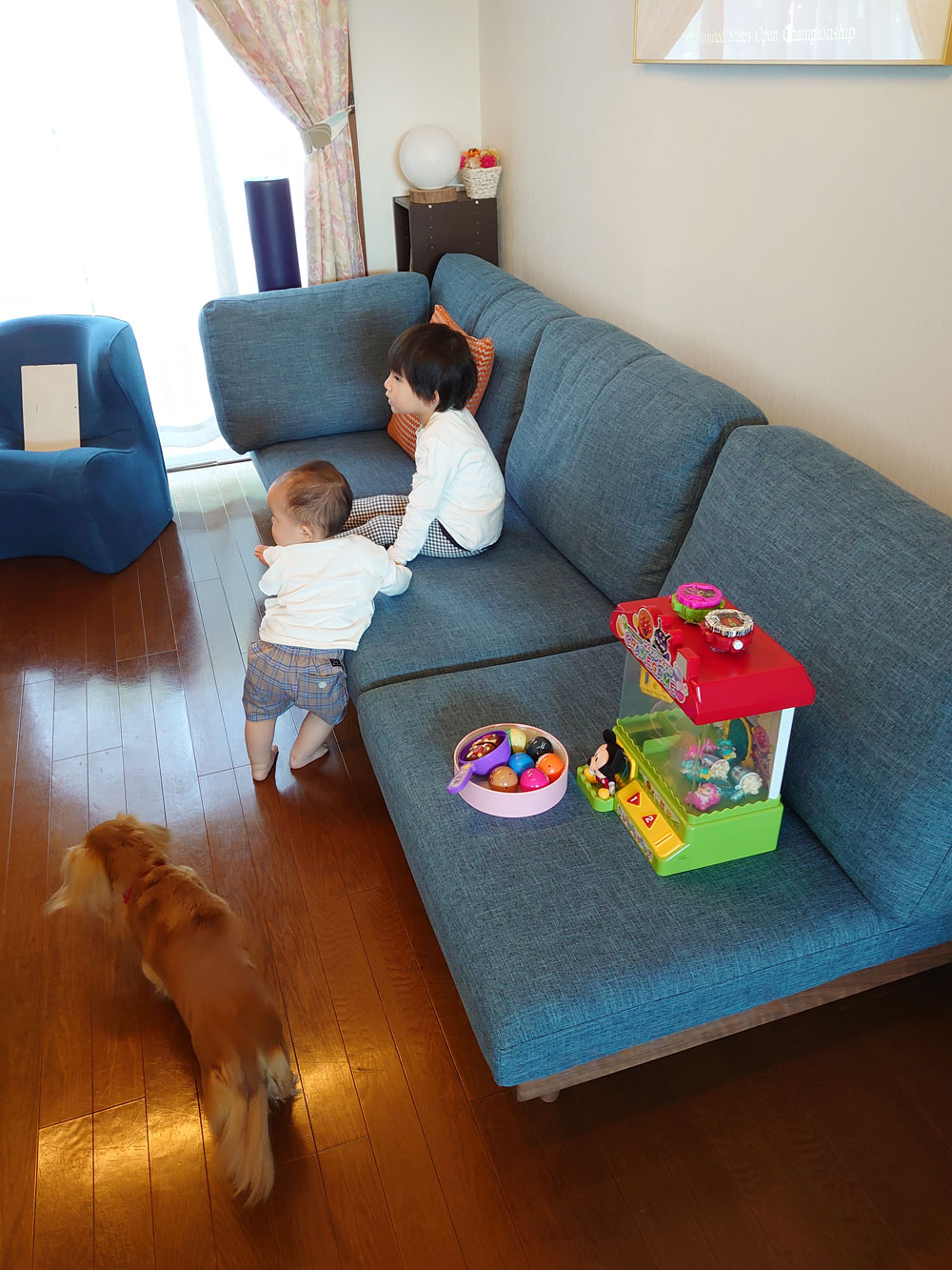 子供と孫と、ローソファの上でたくさんの思い出を。【国産ローソファ・フロアソファ専門店HAREM】
